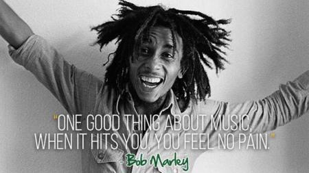 bob marley, music